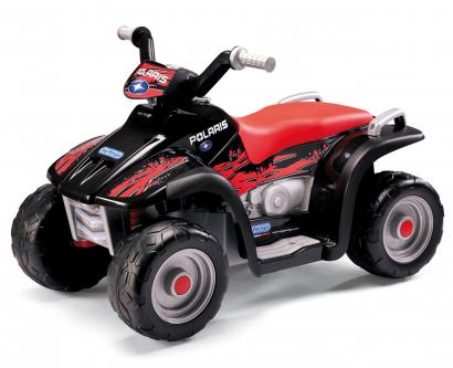 Электромобиль Peg Perego Polaris SportsMan 400 NERO