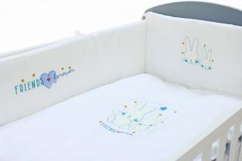 Комплект постельного белья Fiorellino Friends Forever 120x60 5 предметов