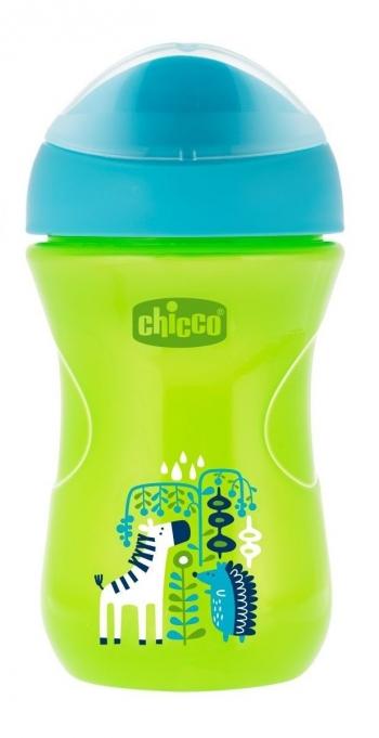 Чашка-поильник Chicco Easy Cup (носик ободок) (12 мес+, 266 мл.)