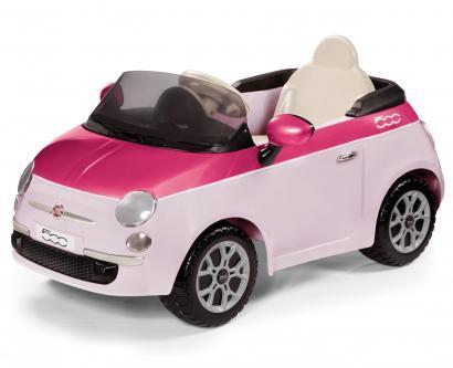 Электромобиль Peg Perego Fiat 500 pink