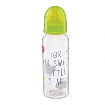 Бутылочка с латексной соской Happy Baby (250 мл.)