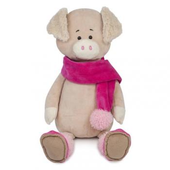 Мягкая игрушка Maxi Toys Свинка Вероника в Шарфе, 20 см