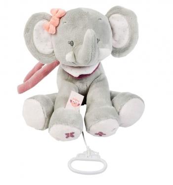 Мягкая музыкальная игрушка Nattou Soft Toy Adele Valentine