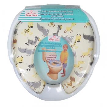 Сиденье для унитаза Baby Care c ручками детское РМ 2399