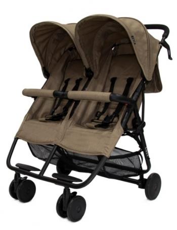 Прогулочная коляска для двойни Cozy Smart