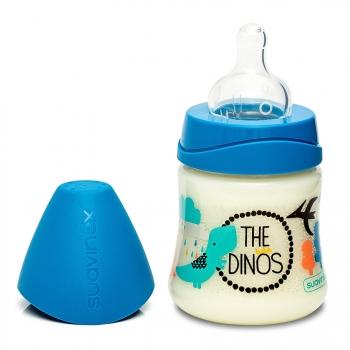 Бутылка Suavinex силиконовая круглая соска 150мл от 0мес.