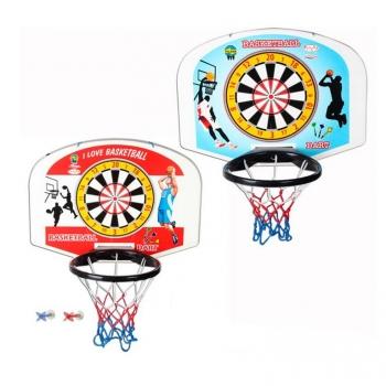 Игровой набор Pilsan Баскетбол и дартс (настенное)