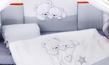 Сменный комплект постельного белья Lepre Sweet Bears 3 предмета (125*65)