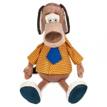 Мягкая игрушка Maxi Toys Пес Барбос в Рубашке, 28 См