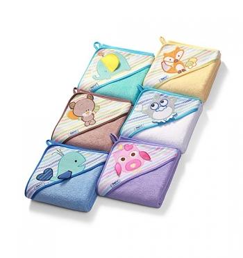 Полотенце BabyOno Soft (100x100 см)