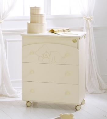 Комод пеленальный с ванночкой Baby Expert Baby Coccolo
