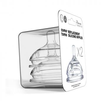 Соски для бутылочек COMOTOMO Natural Nipple Packs 6+(Y)