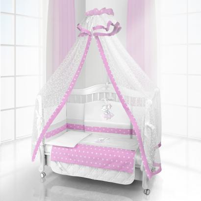 Комплект постельного белья Beatrice Bambini Unico Ragazza (120х60)