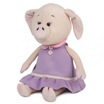 Мягкая игрушка Maxi Toys Свинка Наденька в Платье, 26 см