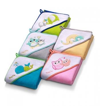 Полотенце велюровое BabyOno (100*100 см)