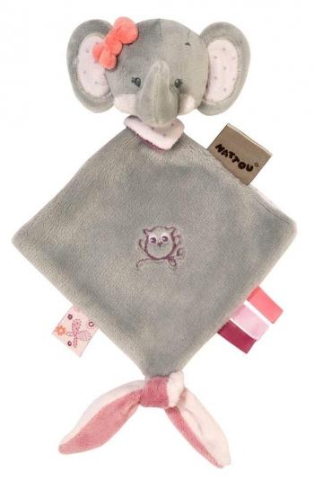 Мягкая игрушка малая Nattou Adele Valentine Doudou