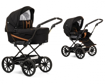 Коляска 2 в 1 Emmaljunga Edge Duo Combi Outdoor (шасси City Black)