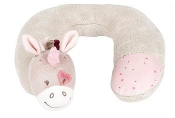 Подушка-подголовник Nattou Neck pillow Nina, Jade Lili