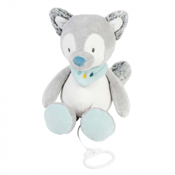 Игрушка мягкая Nattou Musical Soft toy Tim & Tiloo