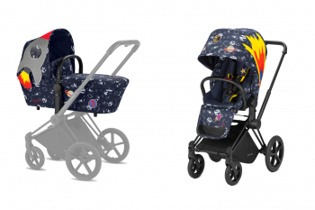 Коляска 2 в 1 Cybex Priam Anna K Space Rocket