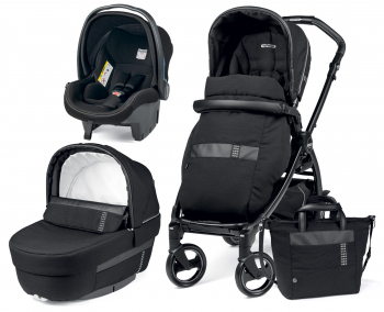Коляска 3 в 1 Peg Perego Book i-Size Rock Elite Modular