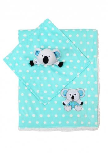 Плед BabyOno Minky в подарочной упаковке