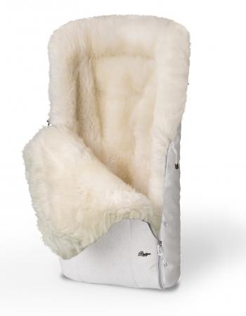 Конверт в коляску меховой Esspero Nicolas Icelandic Sheep (натуральная овчина)