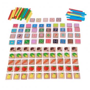 Арифметический счет МДИ (135 элементов, 40 цветных палочек)