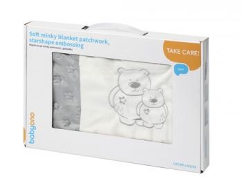 Плед BabyOno РATCHWORK в подарочной упаковке