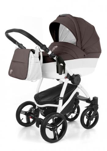 Коляска для новорожденных Esspero Grand Newborn Lux (шасси White)