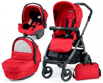 Коляска 3 в 1 Peg Perego Book 51S Geo Set Modular (шасси Titania)