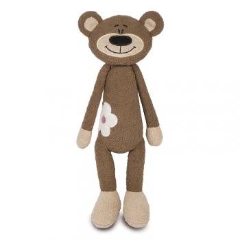 Мягкая игрушка Maxi Toys Медвежонок с Цветочком