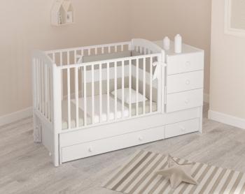 Детская кроватка Gandilyan (Гандылян) Тереза (маятник)