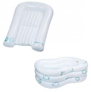 Набор Bebe Confort надувная ванночка + пеленальный коврик в чехле
