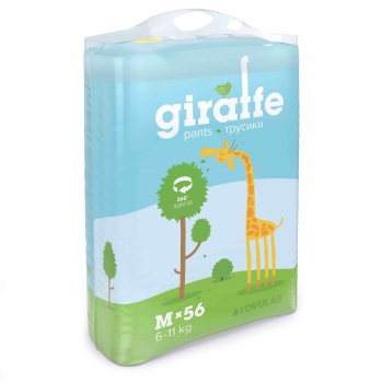 Трусики - подгузники Lovular Giraffe