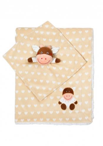 Плед BabyOno Minky (в подарочной упаковке)