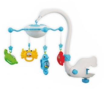 Музыкальная карусель с ночником Baby Mix Подводный мир