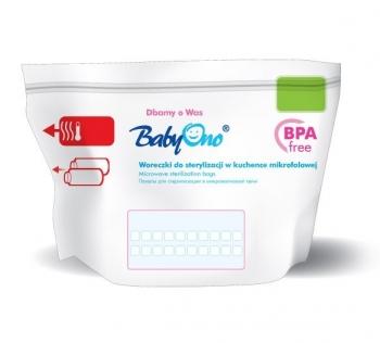 Пакеты для стерилизации в микроволновой печи BabyOno (5шт. в уп.)