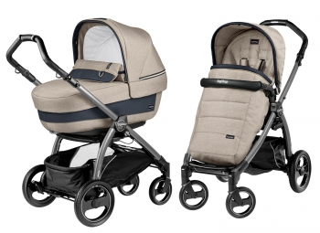 Коляска 2 в 1 Peg Perego Book S Elite Modular (шасси Jet)