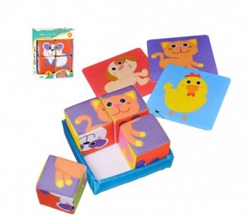 Мягкие кубики - пазл Parkfield