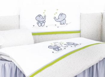 Комплект постельного белья Lepre Funny friends 6 предметов (125*65)