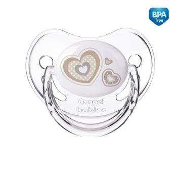 Пустышка анатомическая Canpol Newborn baby силикон, 6-18 мес., арт. 22/566