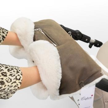 Муфта для рук на коляску Esspero Stella (100% овечья шерсть)