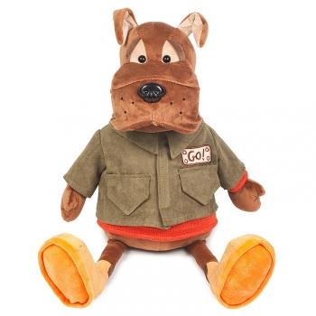 Мягкая игрушка Maxi Toys Бульдог Рокки в Куртке