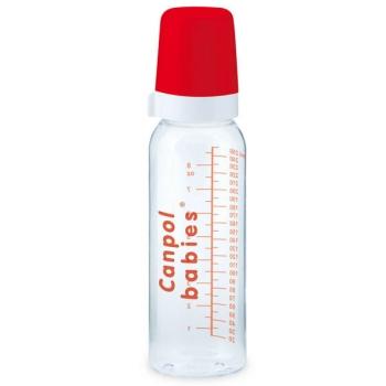 Бутылочка Canpol стекл., с сил. соской, 12+ мес., 240 мл, арт. 42/101