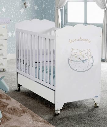 Детская кроватка Micuna Love Sleeping (120х60) + Матрас СН-620