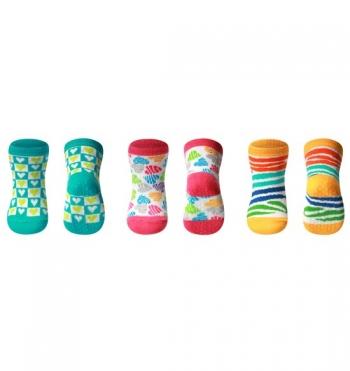Носки из хлопка BabyOno Dream антискользящие 6+
