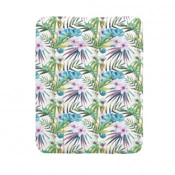 Пеленальный матрац 70x50 см Ceba Baby Flora Fauna мягкий на комод