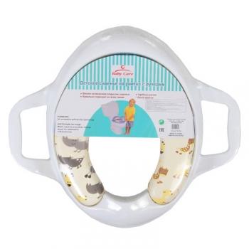 Сиденье для унитаза Baby Care c ручками детское РМ 258