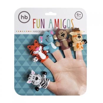 Набор игрушек на пальцы Happy Baby